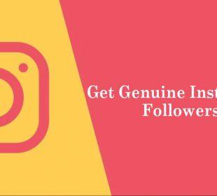 get genuine Instagram followers